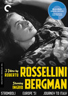 3 Films by Roberto Rossellini Starring Ingrid Bergman (Criterion Blu-Ray)