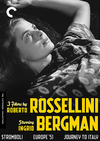 3 Films by Roberto Rossellini Starring Ingrid Bergman (Criterion DVD)