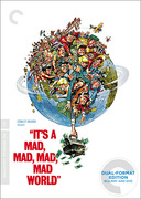 It's a Mad, Mad, Mad, Mad World (Criterion Blu-Ray/DVD Combo)