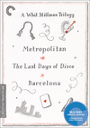 A Whit Stillman Trilogy: Metropolitan, Barcelona, The Last Days of Disco (Criterion Blu-Ray)