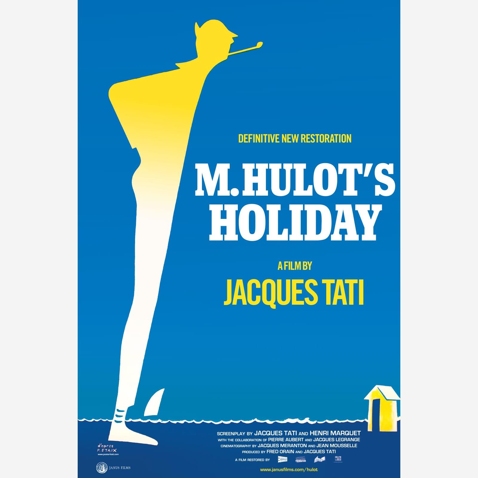 M. Hulot's Holiday Poster