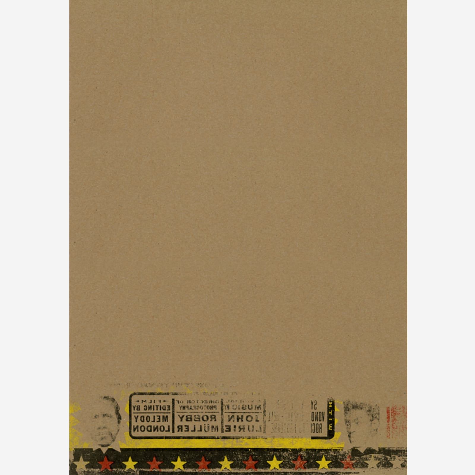 Mystery Train Letterpress Poster