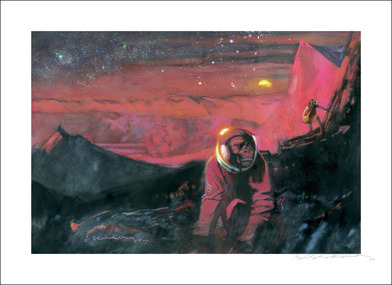 Robinson Crusoe on Mars Art Print