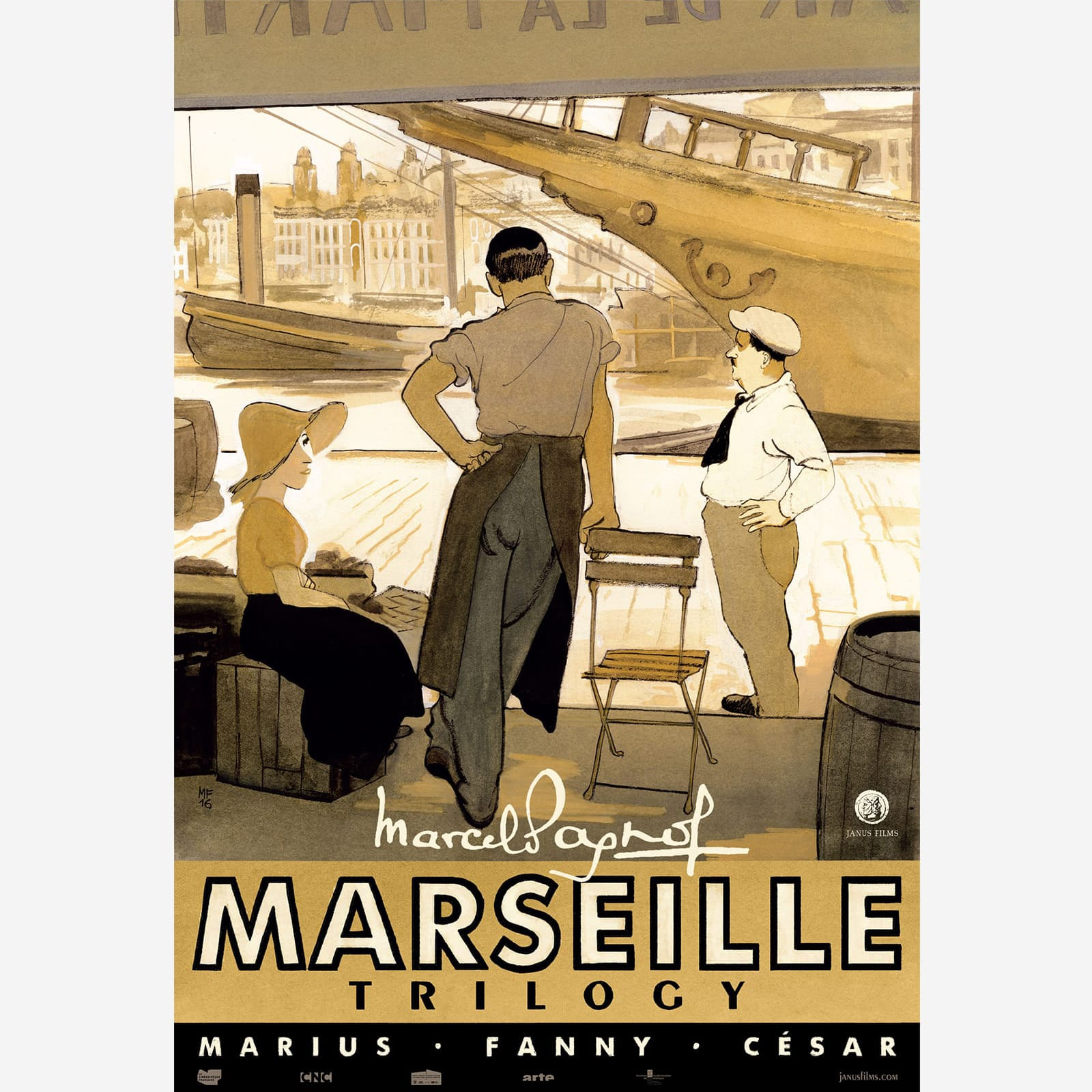 The Marseille Trilogy Poster