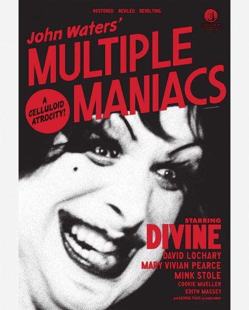 Multiple Maniacs Poster