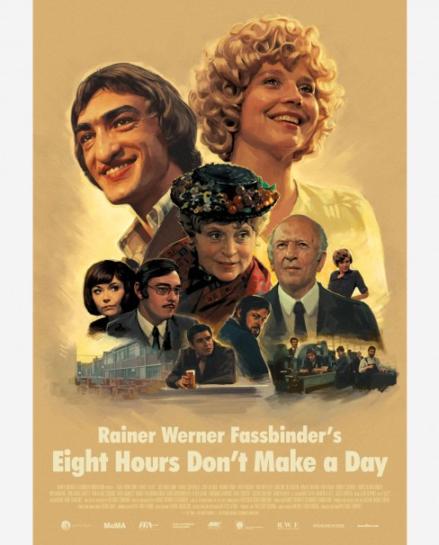 Eight Hours Don't Make a Day Poster