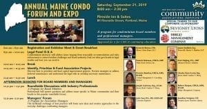 Maine Condo Expo and Forum