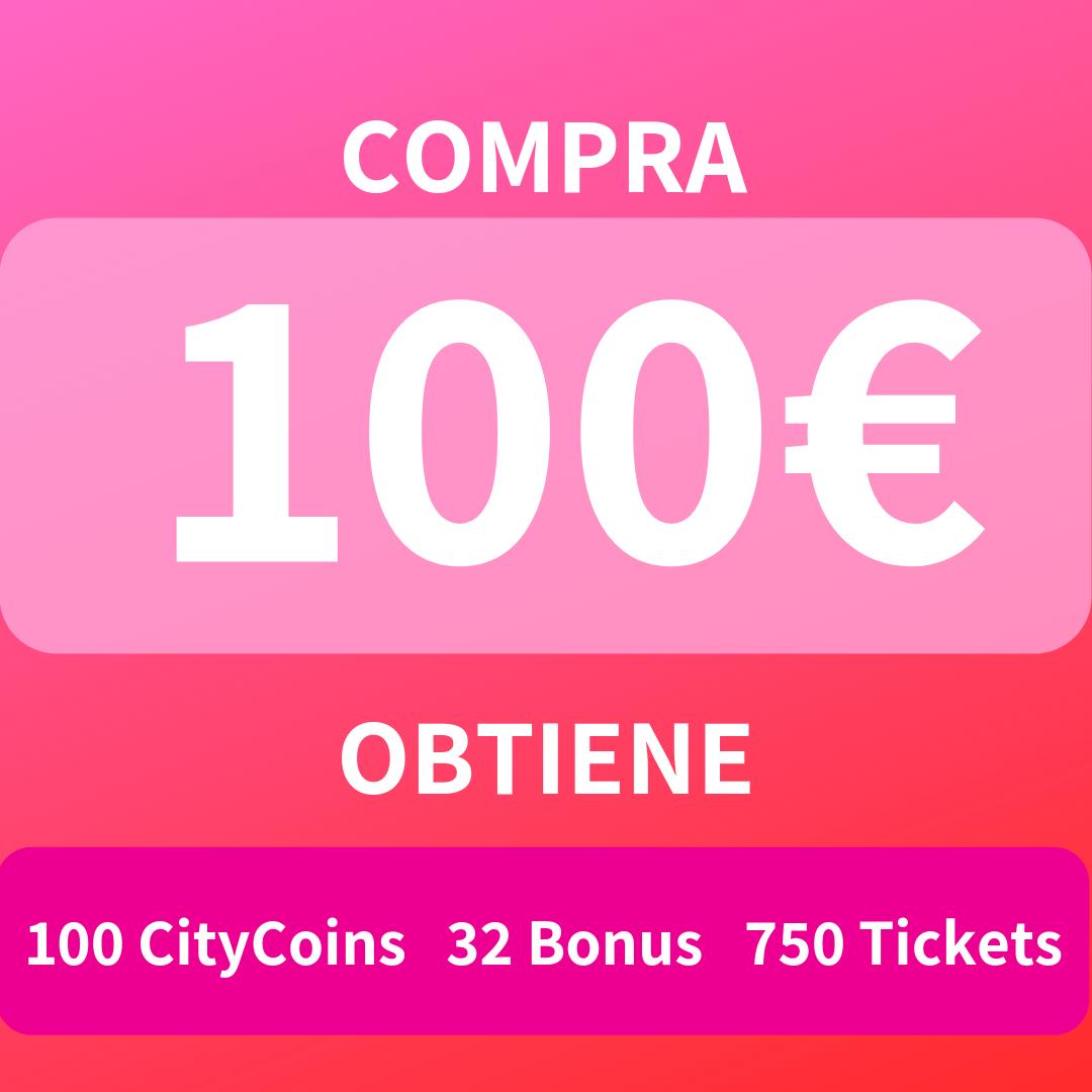 100 CityCoins