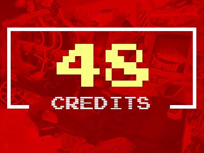 48 Arcade Credits