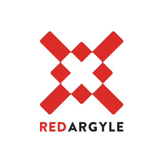 Red Argyle