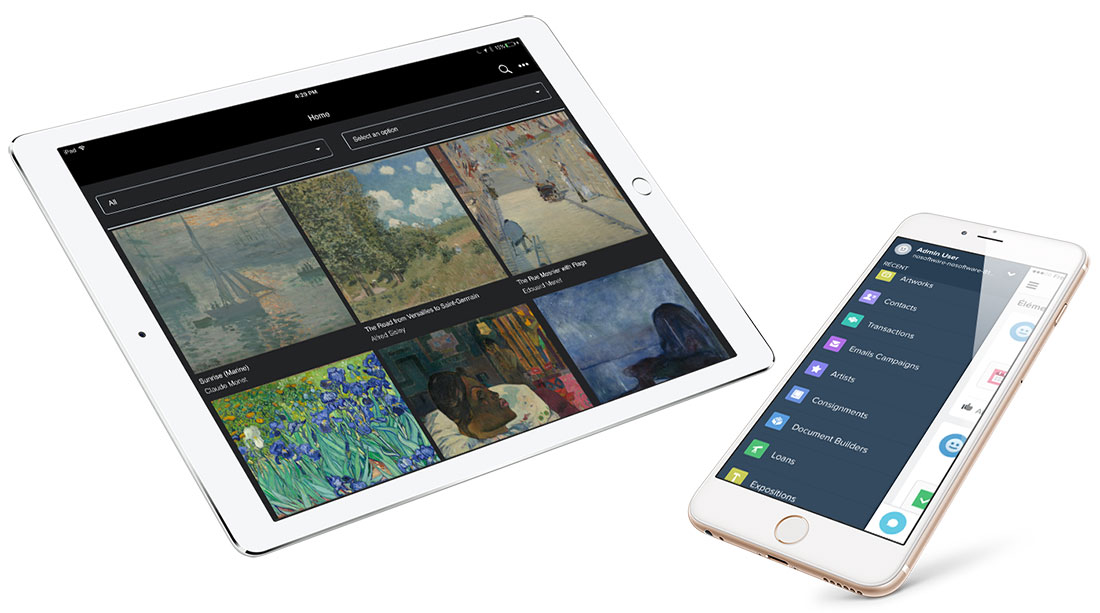 Veevart - Mobile Application for Art Gallery Management