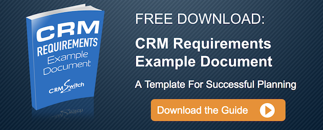 Free Download: CRM Requirements Example Document