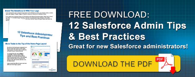 Salesforce Admin Tips & Best Practices