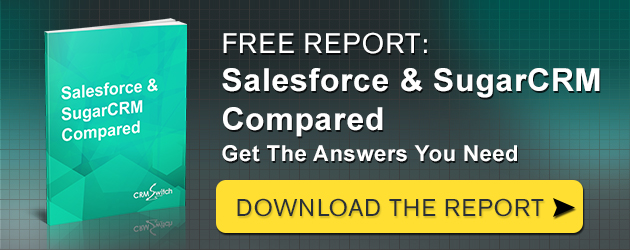Free Report: Salesforce and SugarCRM Compared