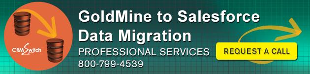 GoldMine to Salesforce Data Conversion Services