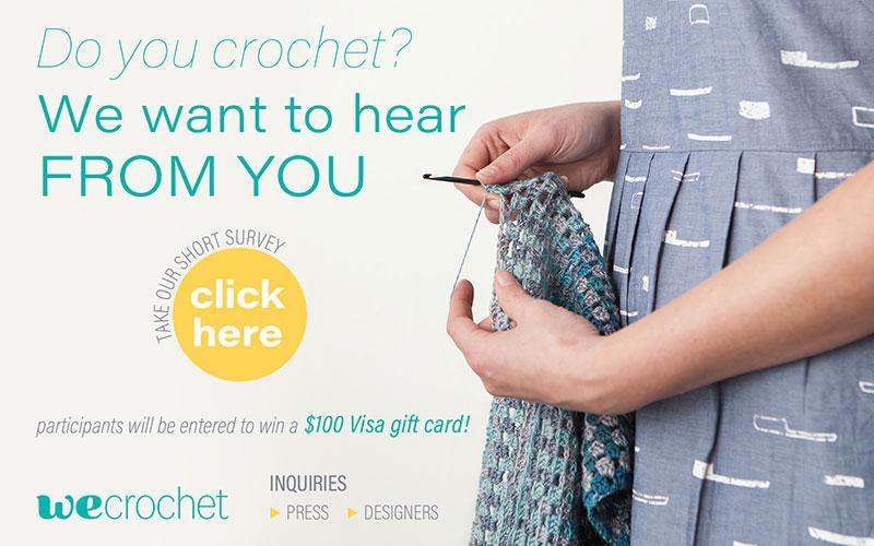 Take Our Crochet Survey