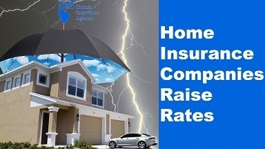 Original home insurance companies raise rates