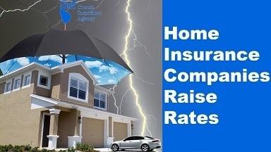 Original home insurance companies raise rates