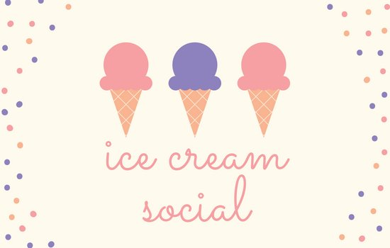 Kindergarten Milestone Ice Cream Social July 27