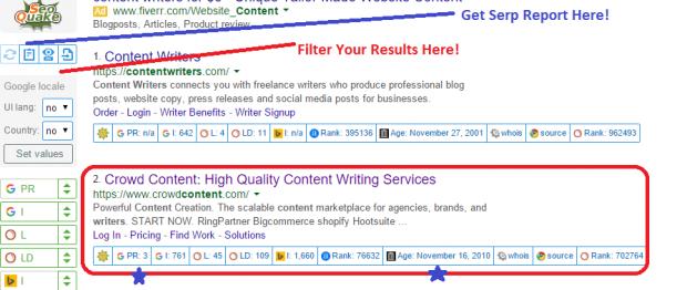 freelance writer seo tool