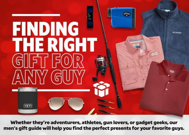 Academy Sports Men's Gift Buying Guide