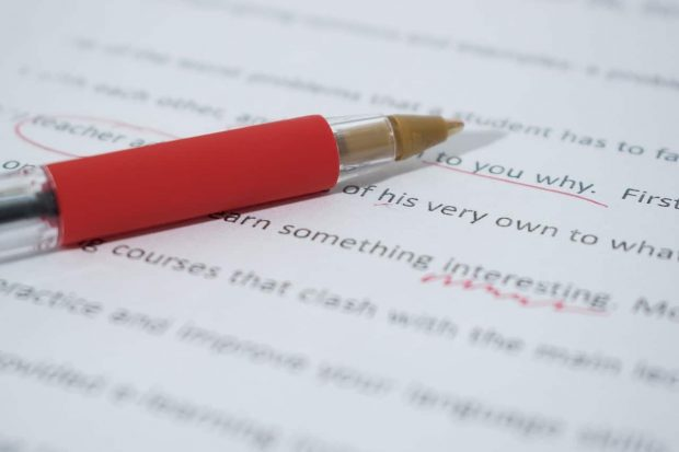 Featured image for an article on the importance of working with professional copy editors