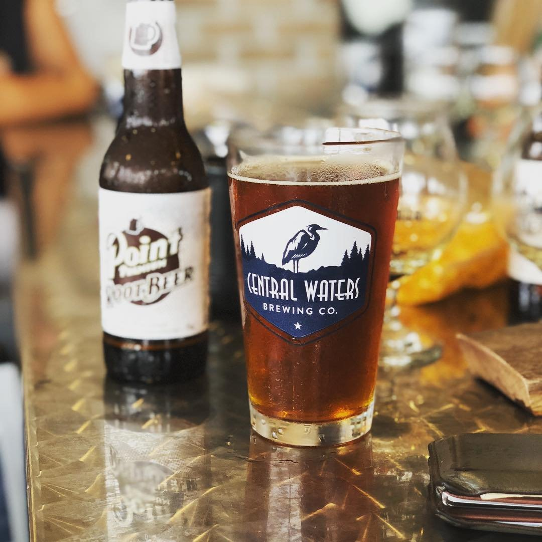 Explore the Central Wisconsin Craft Collective, including a stop at Central Waters in Amherst. Photo by @cobalt_brewing