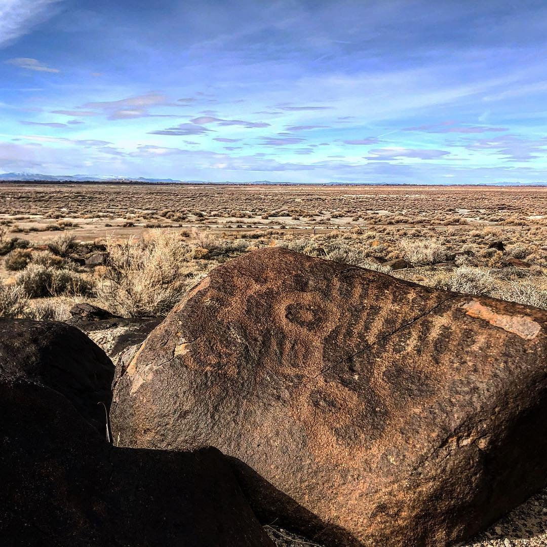 We used to be so connected to the land. Maybe someday we will be again. The Grimes Point Archeological complex dates back 9000 years of human occupancy as well as recording some of the oldest known rock art from the Great Basin. explore_nevada travelnevada