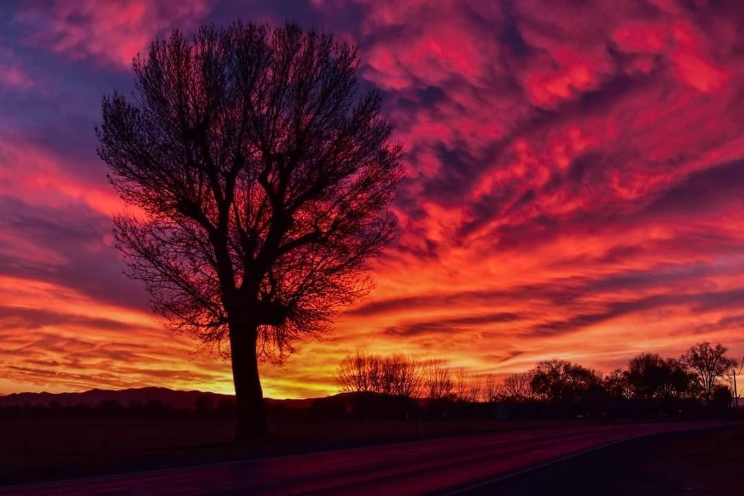 Red skies at night, cowboy's delight! 📷via dodgernv . . . . . #lovewhereyoulive #outwest #wildwest #travelnevada #nevadadesert #nevadalife #adventureseeking #goexplore #getoutstayout #optoutside