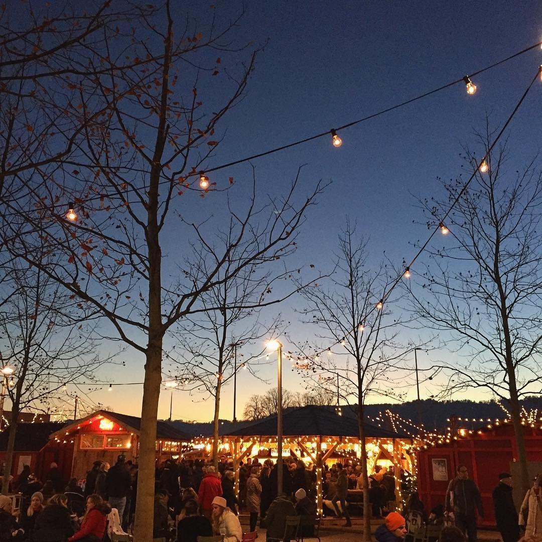 Weihnachtsmarkt Zürich Bellevue