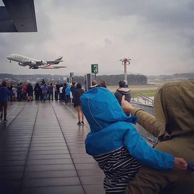 Flughafen Zürich Zuschauerterrasse