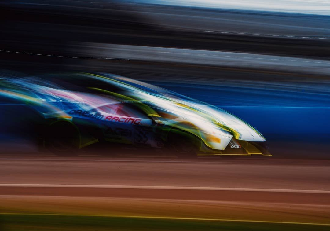Okay, last super slow pan of the @drmotorsport Lamborghini huaracan coming down the straight away in St Pete. f/40 1/5s 50 ISO hand held. I kind of wish I could go to more races other than GP St Pete. Always fun figuring out something new. #gpstpete #embracetherace #firestonegp #grandprix #stpete #dtsp #spgp #racecar #motosport  #sonya7riii #sonyalpha #sonya7r3 #panning #igerstpete #cleargram #liveamplified #vsco #lamborghini #supercar #huracan  #lamborghinigt3 #pwc #pirelliworldchallenge #pirelli