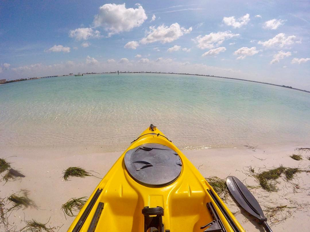 Caladesi Island on a gorgeous day in Florida! #caladesiisland #statepark #stateparks #findyourpark #florida #floridaliving #floridalife #kayaking #ocean #saltlife #islandlife #island #outside #thegreatoutdoors #outdoorslife #outdoorsman #travel #wanderlust #travelgram #instatravel #explore #exploremore #adventureisoutthere #adventureawaits #gopro #goprophotography #wildernessculture #optoutside #getoutthere #scenery