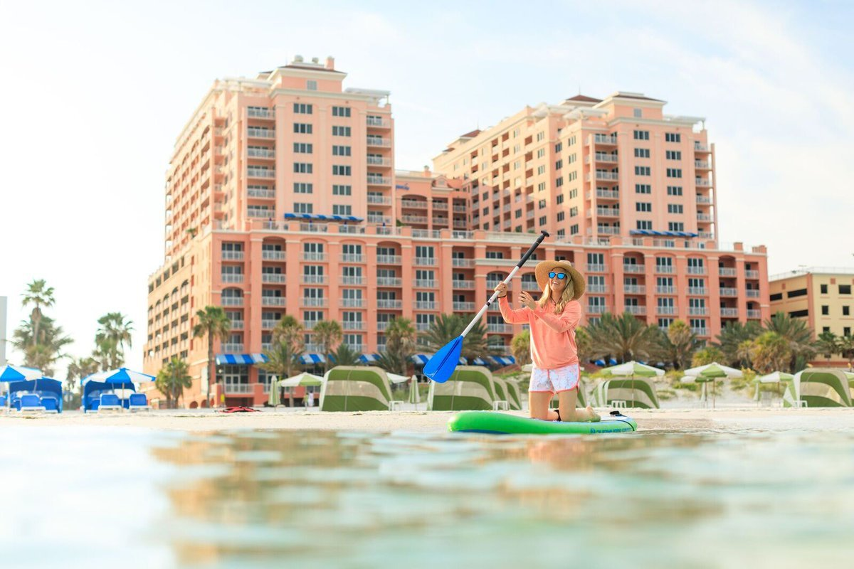 A1: Favorite memory from any trip is enjoying everything Clearwater Beach has to offer! From the sandcastles and sun to the paddle boarding and delicious food! #FLTravelChat https://t.co/N0aV1yFY6l