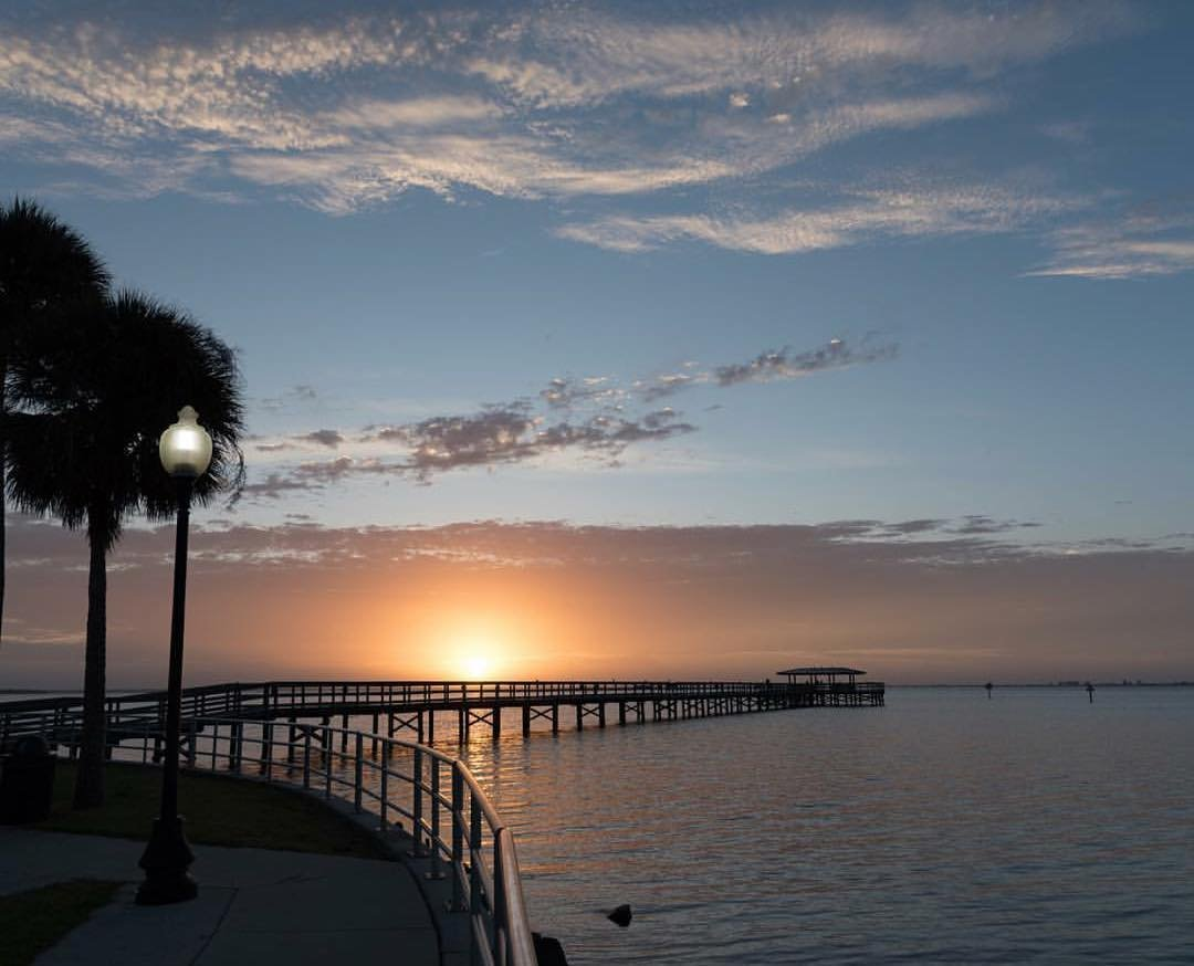 Marvelous, glorious lights... #cleargram from Safety Harbor by @jnovakfl. . . Hey frans, @jkhokhar1 here. Loving the tonal control and exposure control here with this gorgeous sunrise. Yummo work! ✌🏽#sunrise #safetyharborpier