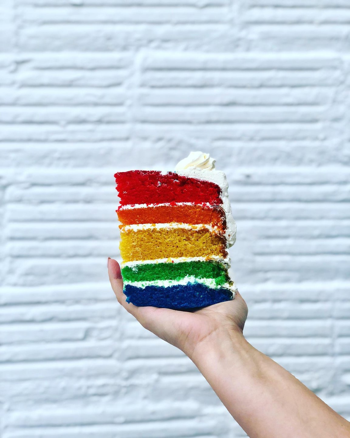 Don't be afraid to to show your true colors. 🏳️🌈  We're kicking off St. Pete Pride week with this vegan cake from valhallabakery_stpete! These treats are always a rainbow in our clouds. 🌈 . . . . . .  . #dtsp #downtownstpete #stpetefl #stpetebeach #stpete #stpetersburg #stpeteeats #stpetefoodie #stpetefoodies #stpeteblogger #stpeteinfluencer #tampa #tampafl #tampabay #tampaeats #tampabayeats #tampablogger #tampainfluencer #fl #florida #floridafoodie #floridafoodies #floridablogger #steatersburg #sainteatersburg #vegan #stpetepride #lgbtq #equality #pride