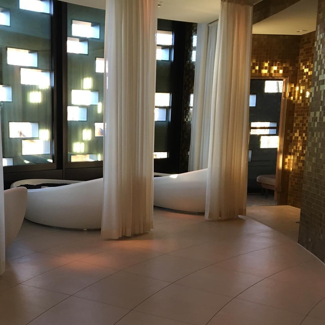 the spa at the Dolder Grand