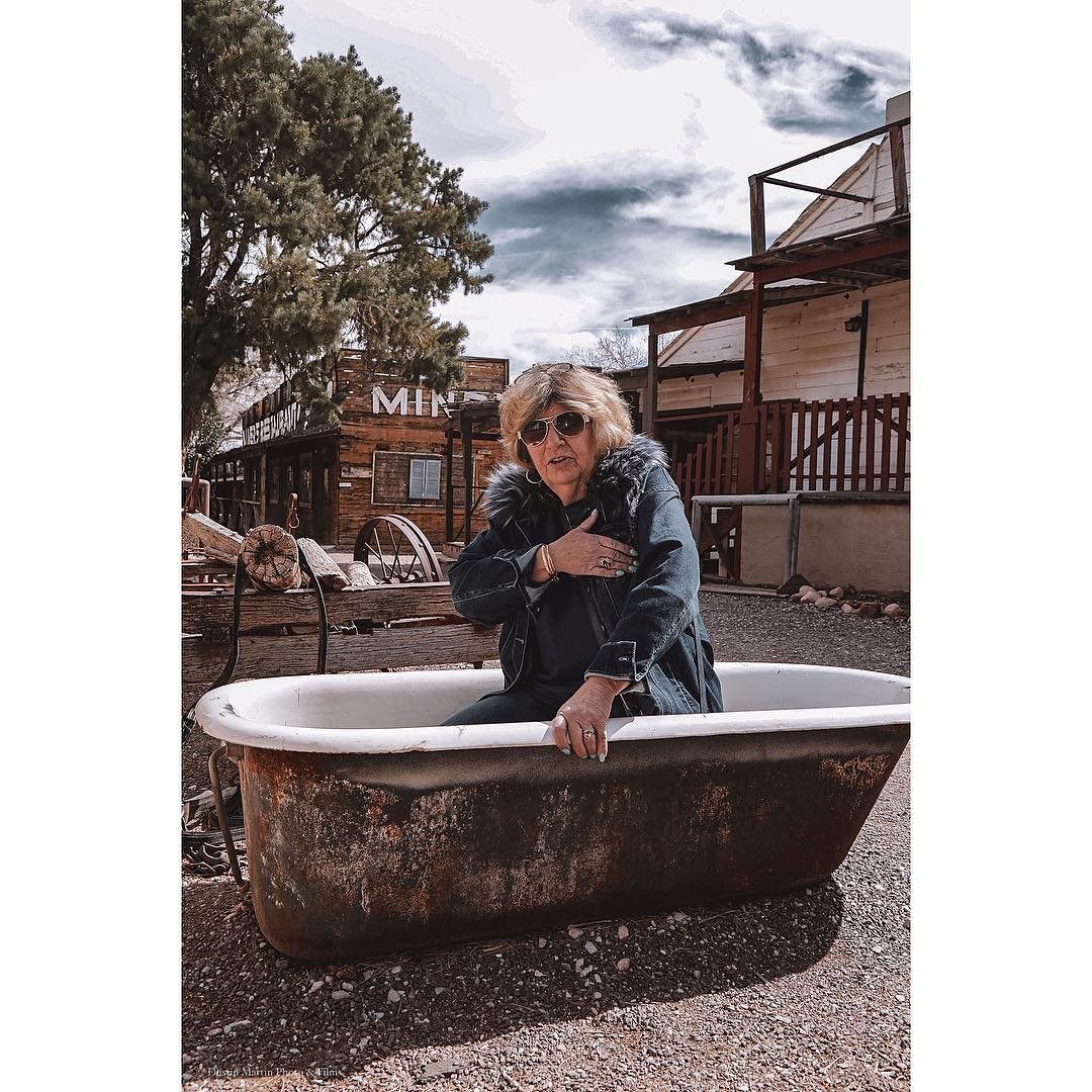Rub a dub dub there's an old lady in the tub! 🛁  Model: betsymom7  Camera: Canon 5D Mark III canonusa  Lens: 105mm  1/200 sec at f/10.0  ISO: 200  #canonphotographers #canonphotography #westerntown #ghosttown #boomtown #oldladyinthemaking #bonniesprings #natgeoyourshot #natgeo100contest #oldladyhobbies #vegasphotographer #vegasphotography #moodygrams #bathtubs #nevada #travelphotography #travelphotographer #wildwildwest #nevadahistory #silverstate #vegaslocal #localphotographer #bonniespringsranch #photographer_pics #vegaslocals #vegaslocalscene