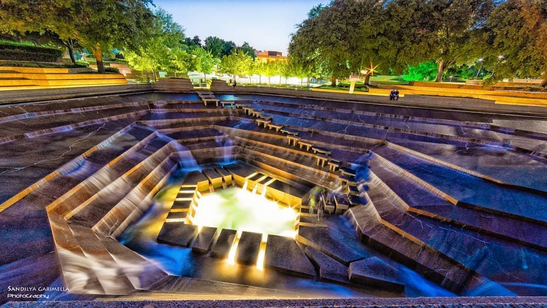 Wonder World Water Photo Opps in Fort Worth