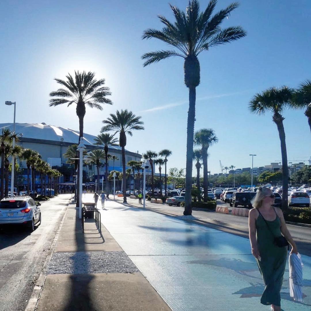 Tampa Bay Rays ⚾️⚾️ #tampabayrays #raysbaseball #jackie42 #stpete #baseball #florida #vacation