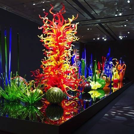 Chihuly Art. #chihuly #glassart #glasssculpture #vibrantcolors #glassblowing #artist #art #travelgram #saintpetersburg