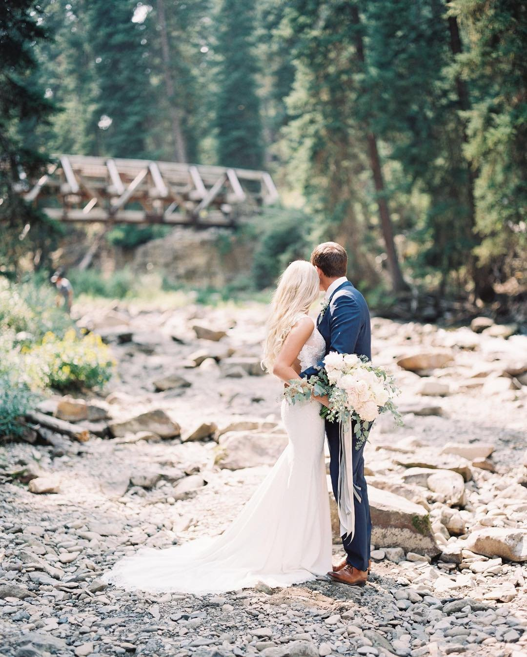 Photo by user jeremiahandrachel, caption reads Oh Kaley and Ryan...your day was so magical!! Let's do it all over again!!