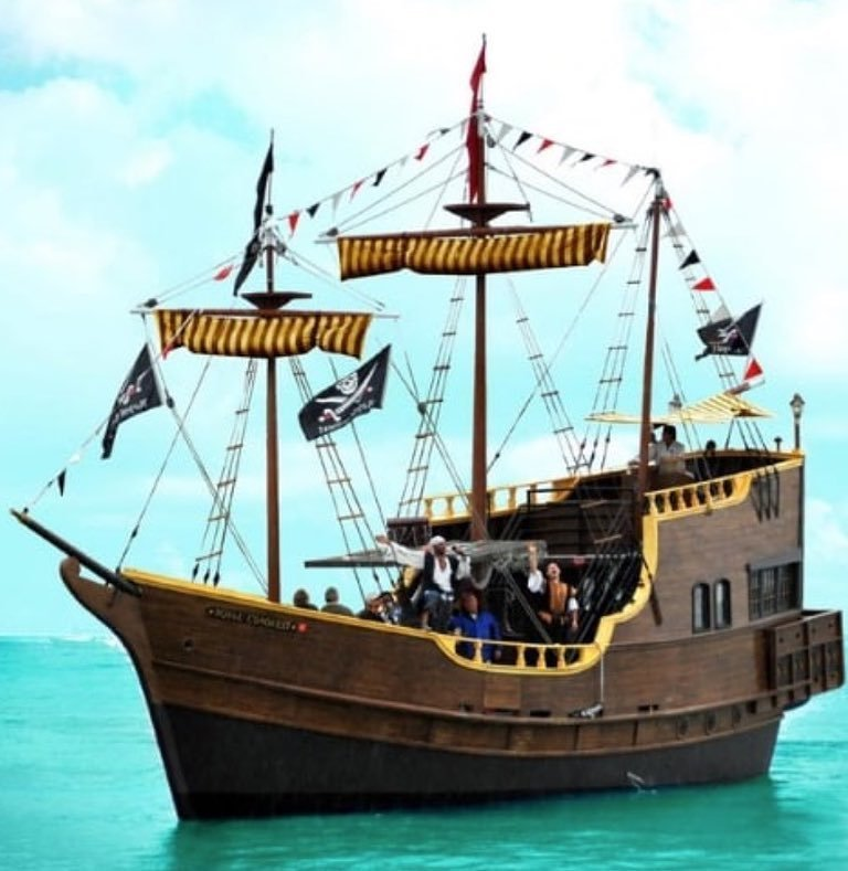 AHOY THERE MATEY! Come join us for a family fun cruise. We depart at 11am, 2pm, & 5pm - call for reservations or book online! ☠️ • • • • • • #pirateshipatjohnspass #pirateship #pirates #pirate #johnspass #madeirabeach #madbeach #familyfun #allyoucandrink #allinclusive #funcruise #funinthesun #royalconquest #twohourcruise #freebeer #freewine #comesailaway #stpete #liveAmplified #vspc #treasureisland #argh #pirateslifeforme #thepirateship