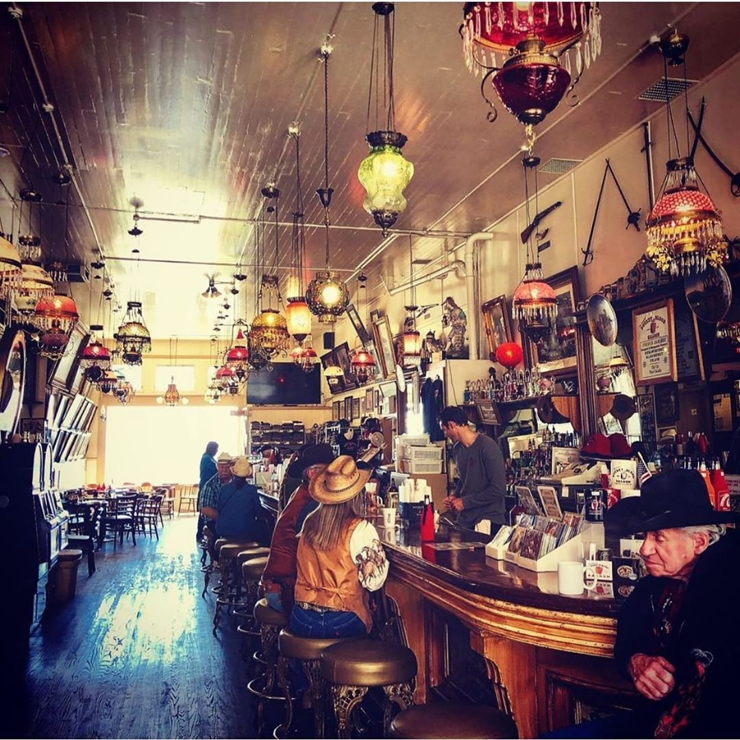 Inside the famous Bucket of Blood Saloon. [📸 ja5marc] ⠀⠀⠀⠀⠀⠀⠀⠀⠀ ⠀⠀⠀⠀⠀⠀⠀⠀⠀ ⠀⠀⠀⠀⠀⠀⠀⠀⠀ ⠀⠀⠀⠀⠀⠀⠀⠀⠀ ⠀⠀⠀⠀⠀⠀⠀⠀⠀ ⠀⠀⠀⠀⠀⠀⠀⠀⠀ ⠀⠀⠀⠀⠀⠀⠀⠀⠀ ⠀⠀⠀⠀⠀⠀⠀⠀⠀ ⠀⠀⠀⠀⠀⠀⠀⠀⠀ ⠀⠀⠀⠀⠀⠀⠀⠀⠀ #virginiacity #onlyinvc #visitvirginiacity #virginiacitynv #stepbackintime #travelnevada #comstock #history #nevada #renotahoe #travel #historictown #renotahoeusa #miningtown #boomtown #oldwest #bucketofbloodsaloon #bucketofblood #saloon #historicsaloon