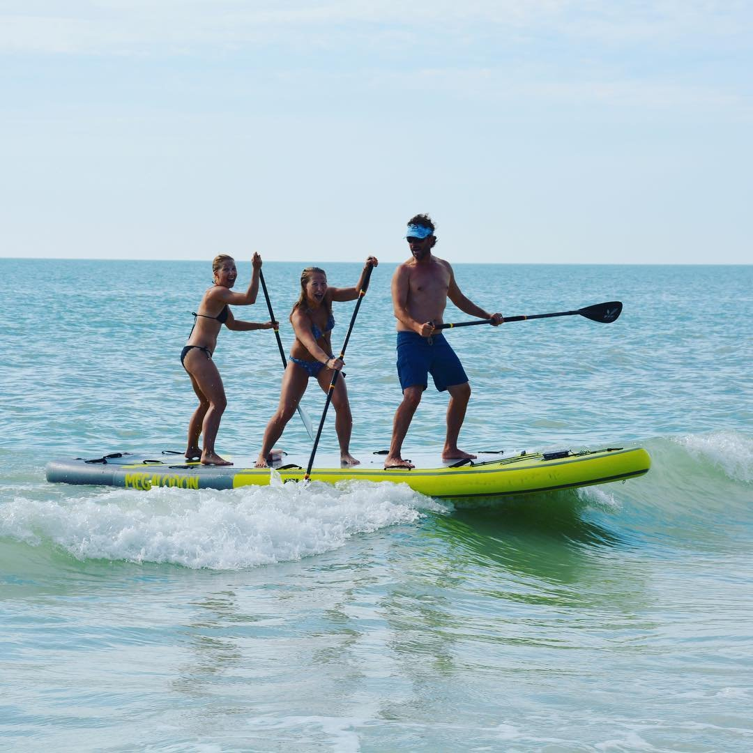 WIN A TEST RIDE 🤩 • We had an epic day yesterday testing our new 5-person paddle board. 🏄‍♀️🏄‍♂️ • 📍 Tag your friends in the comments below 👇 for a chance to win a free test ride in St. Petersburg, FL. 🎉 • The winner will be announced on Sunday. 🤗 • #mashomacksup #gobywater • • • • #supstpete #sup #standuppaddle #islesurfandsup #stpetebeach #stpetefl #florida #passagrille #watersports #dtsp #stpete #treasureisland #tampabay #surfstpete #liveamplified