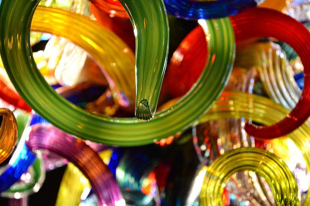 Chihuly up close. #chihuly #iwashere #stpete