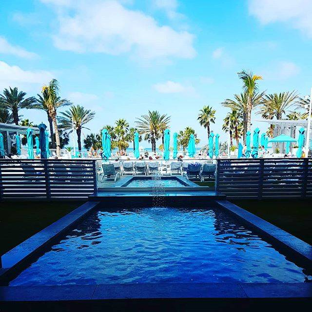 Eat. Sleep. Swim. Repeat. #poolside #pooltime #wyndhamgrandclearwaterbeach #clearwaterbeach #florida #gulfcoast #vacationmode