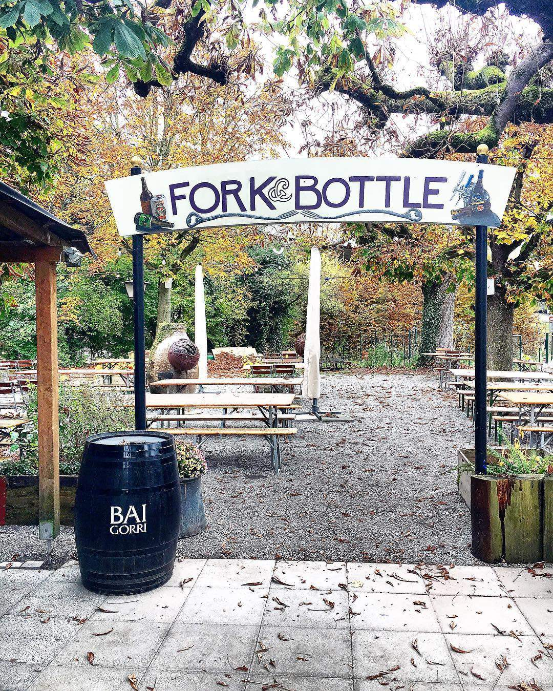 Fork & Bottle