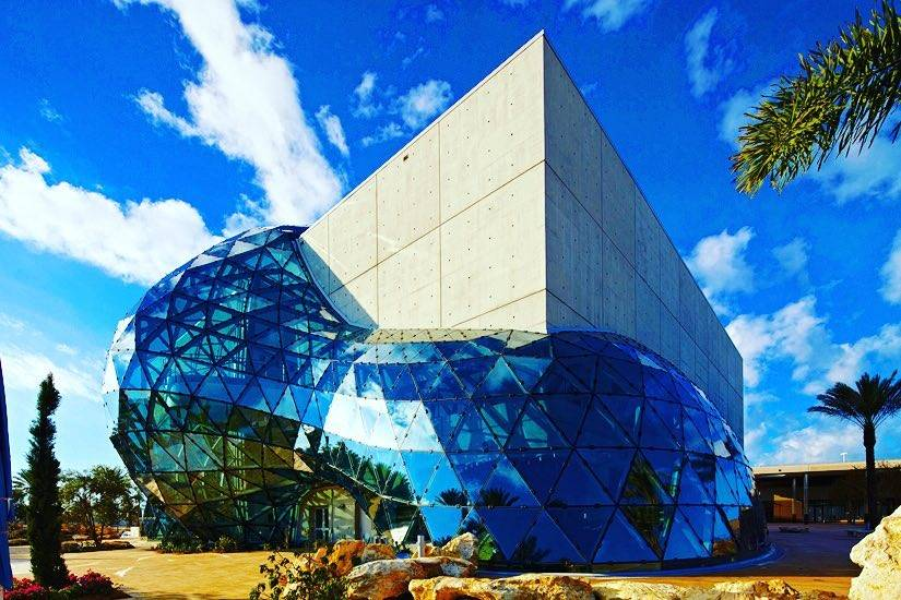 Salvador Dalí is so loved that there is a museum dedicated to his art in St.Petersburg, Florida.