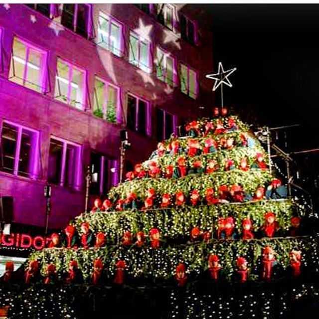Der singende weihnachtsbaum zurich 2019